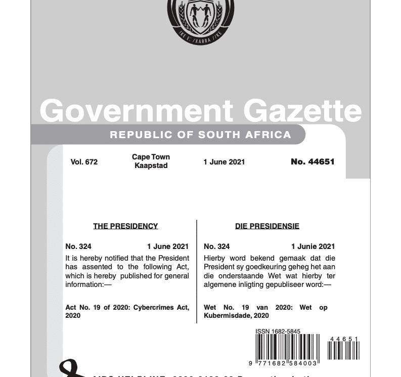 https://davinciforensics.co.za/cybersecurity/wp-content/uploads/Cybercrime-Bill.pdf